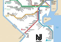 Nj Transit Rail Lines Map with Nj Train Schedule