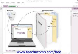 Onenote 2013 Tutorial The Onenote Environment Microsoft Training intended for Onenote Tutorial 2013