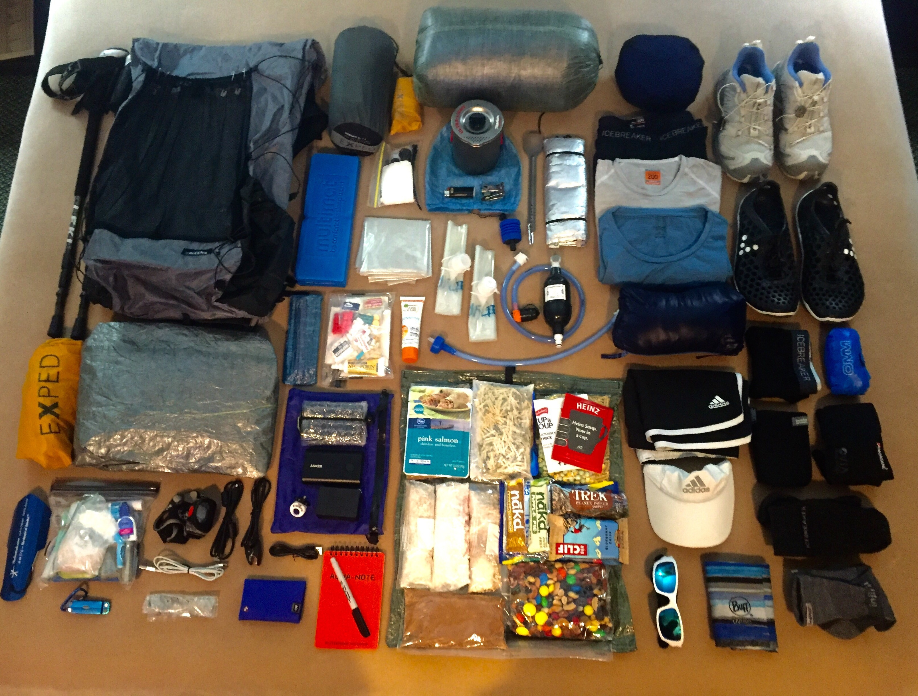 Pct Gear List – Zenlightened Voyager intended for Pct Gear List 36095