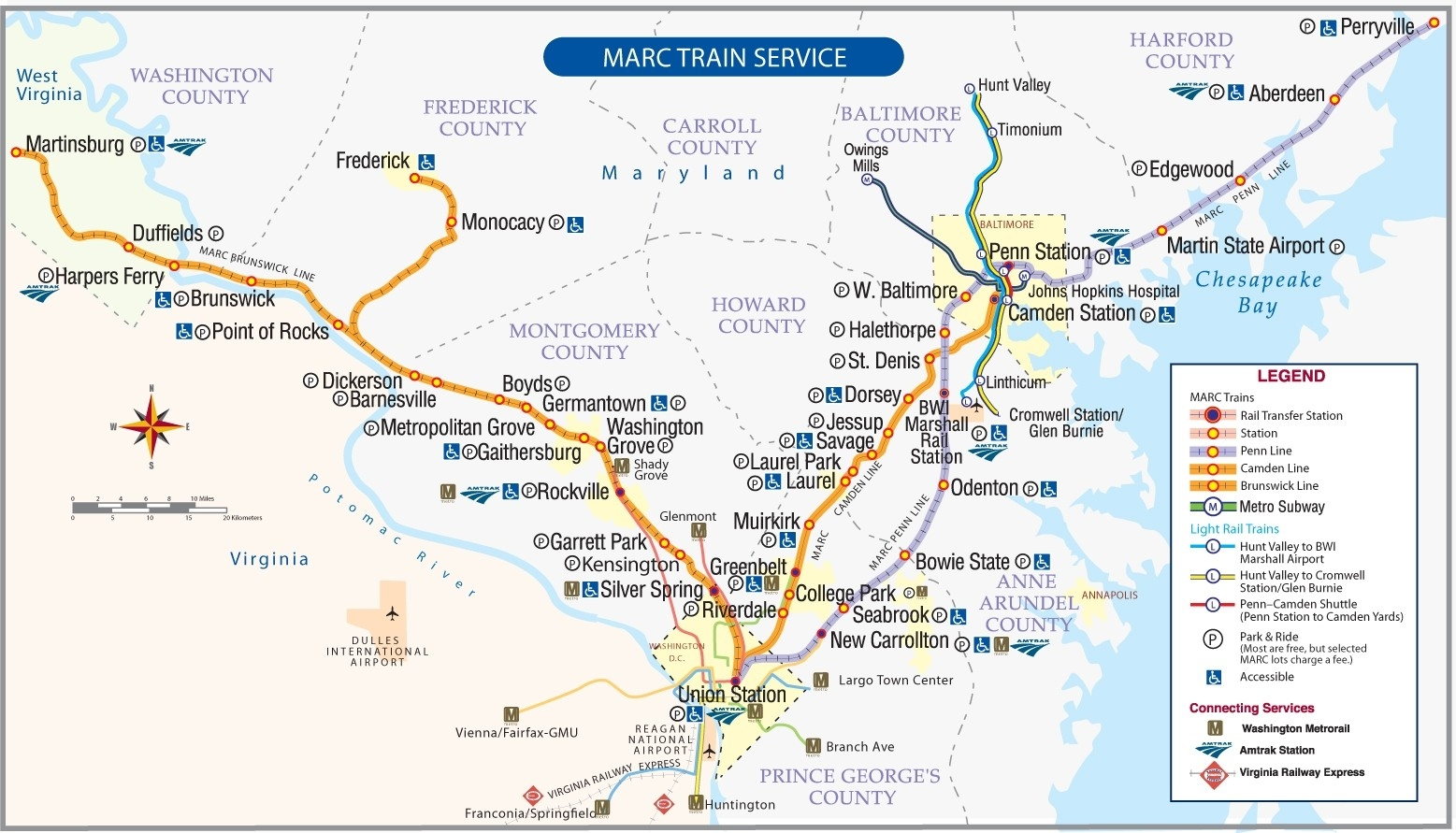 Penn Line Schedules | Maryland Transit Administration with Marc Train Schedule 46938