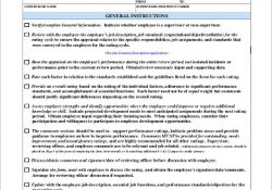 Performance Review Sample - 8+ Free Documents In Word, Pdf throughout Performance Review Samples