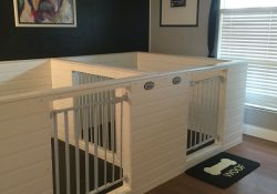 Pin By Crystal Butler On Pet Things   Pinterest   Dog Rooms, Dog within Indoor Dog Pen Ideas