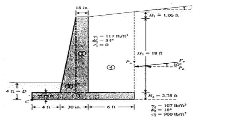 Retaining Wall Design Calculations | Basic Calculations Needed To with regard to Retaining Wall Design Example 56539