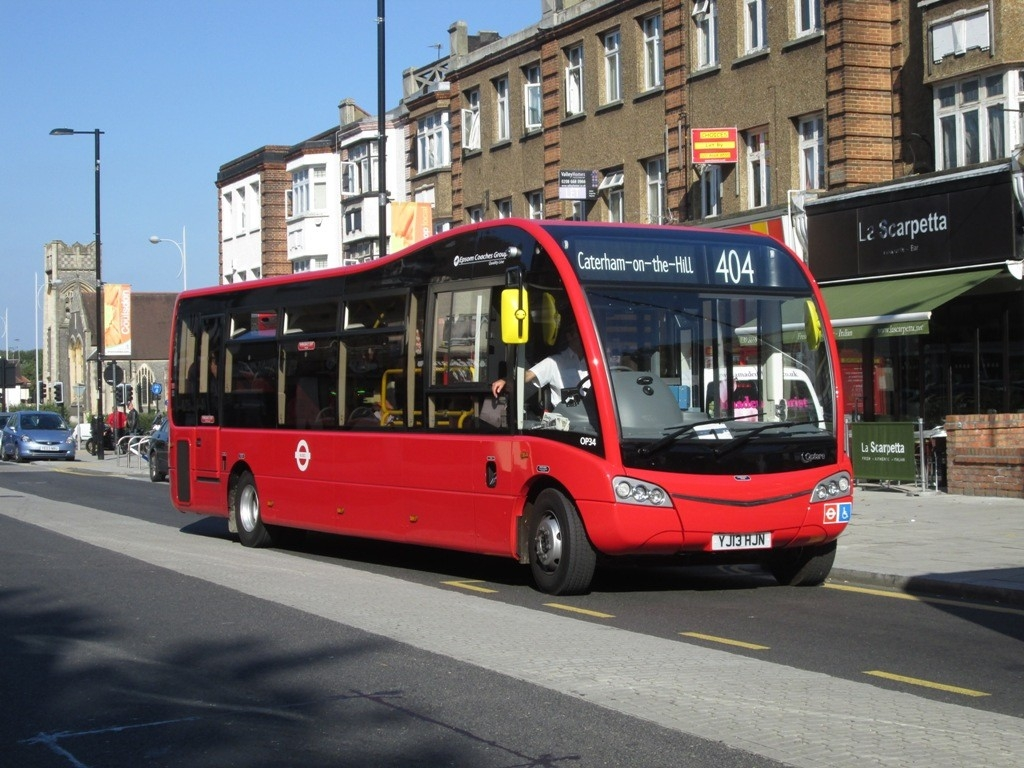 Route 404 Quality Line Op34 Yj13Hjn Coulsdon   South London throughout 404 Bus Schedule 48059