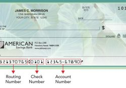 Routing Number | American Savings Bank Hawaii inside Bank Of America Routing And Account Number