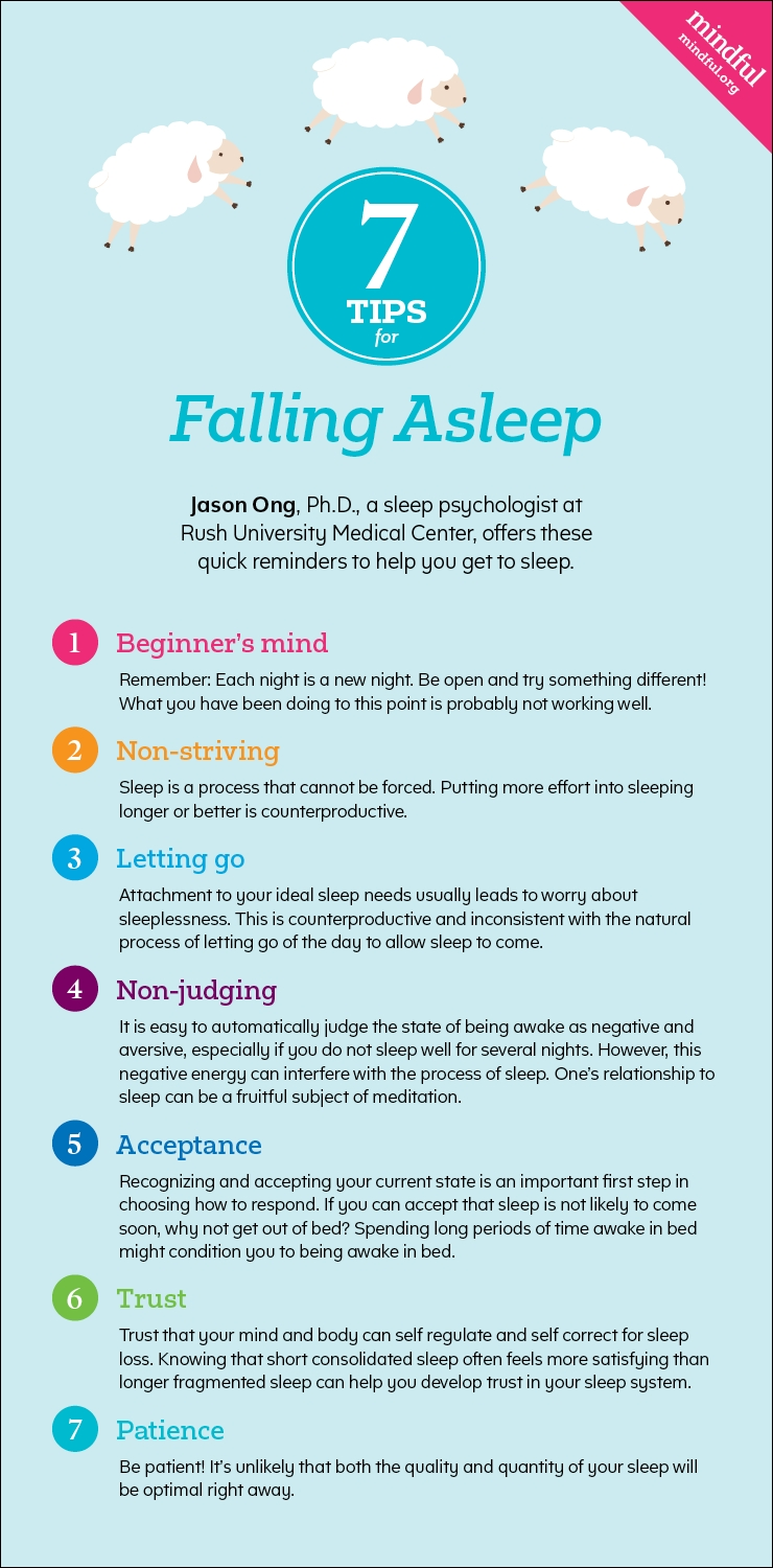 Seven Tips For Falling Asleep - Mindful for Tips To Help You Fall Asleep 48265