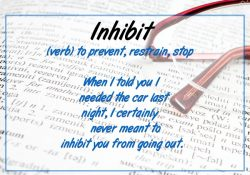Shareworthy - What Is The Meaning Of Inhibit? Words To Know. inside Definition Of Inhibit