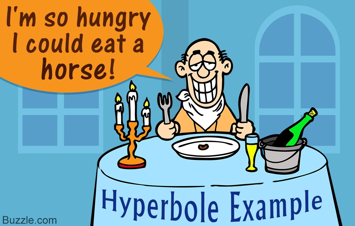 Simple And Famous Hyperbole Examples That Are Easy To Understand for Example Of A Hyperbole 57912