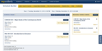 Sisweb, The Student Information System On The Web regarding Uc Davis Schedule Builder 47648