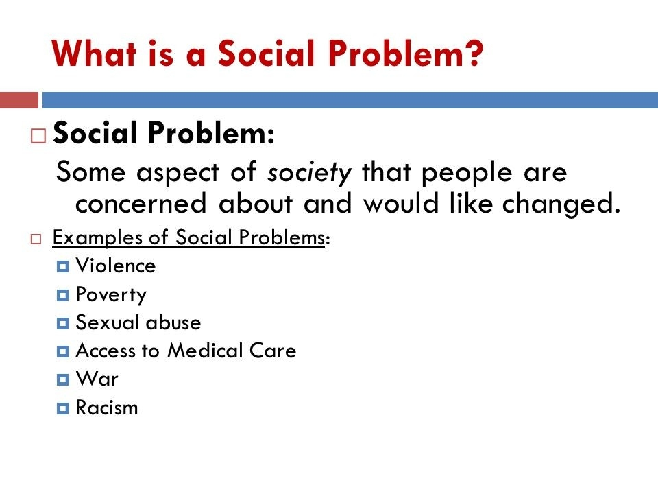 Social Problems: Chapter 1 The Sociological Perspective. - Ppt Download regarding Examples Of Social Problems 57182