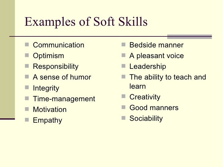 Soft Skills Examples - Muco.tadkanews.co throughout Examples Of Soft Skills 56623