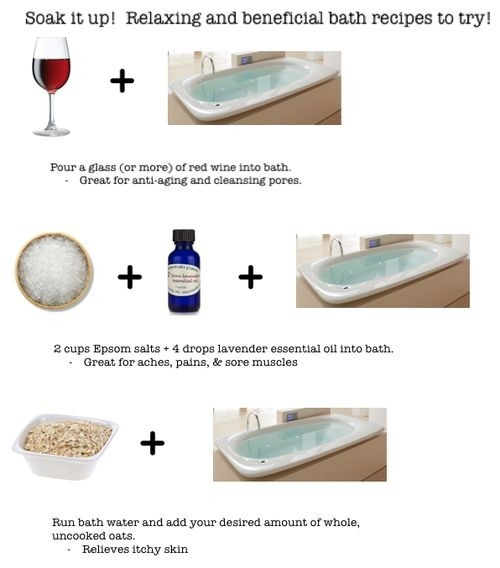 Sore Muscle Remedies For Your Bath | The Lil Spa Room | Grind in How To Help Sore Legs 47064