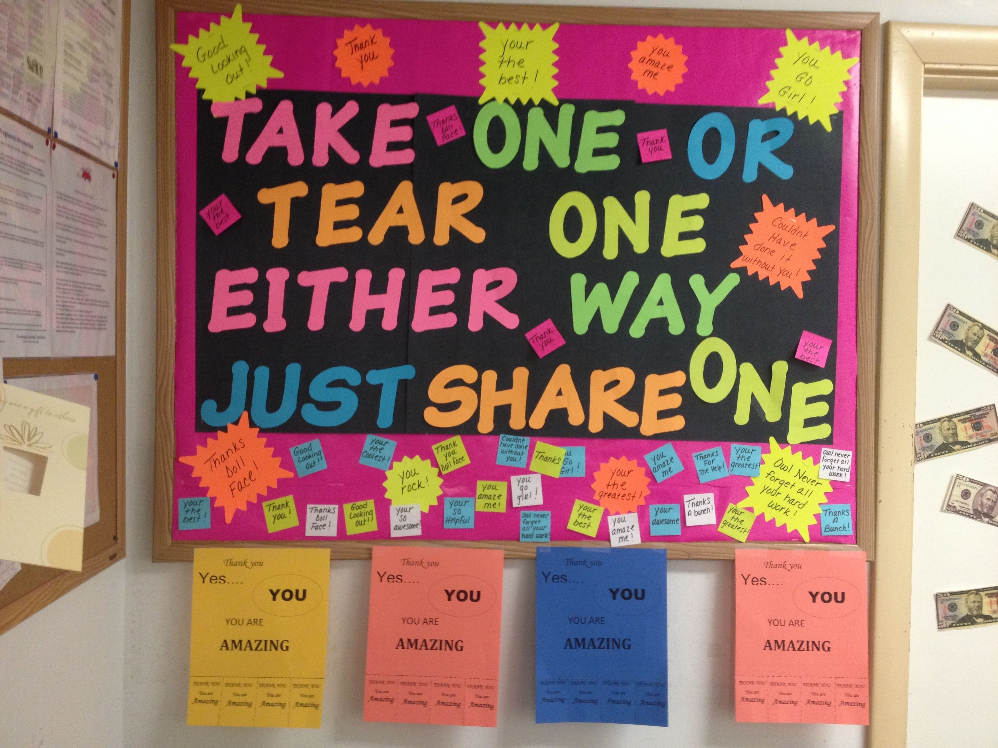 Staff Moral Board | Team Work | Staff Morale, Morale Boosters with Office Morale Ideas 38033