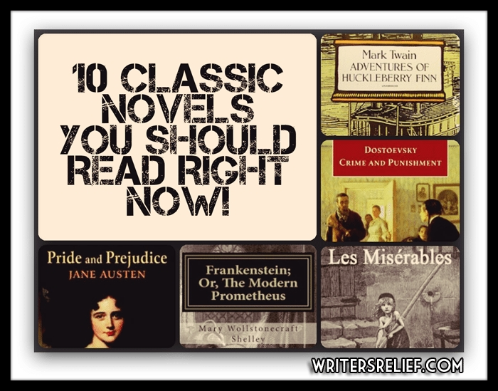 Ten Classic Novels You Should Read Right Now! - Writer's Relief, Inc. within Classic Novels List 37277