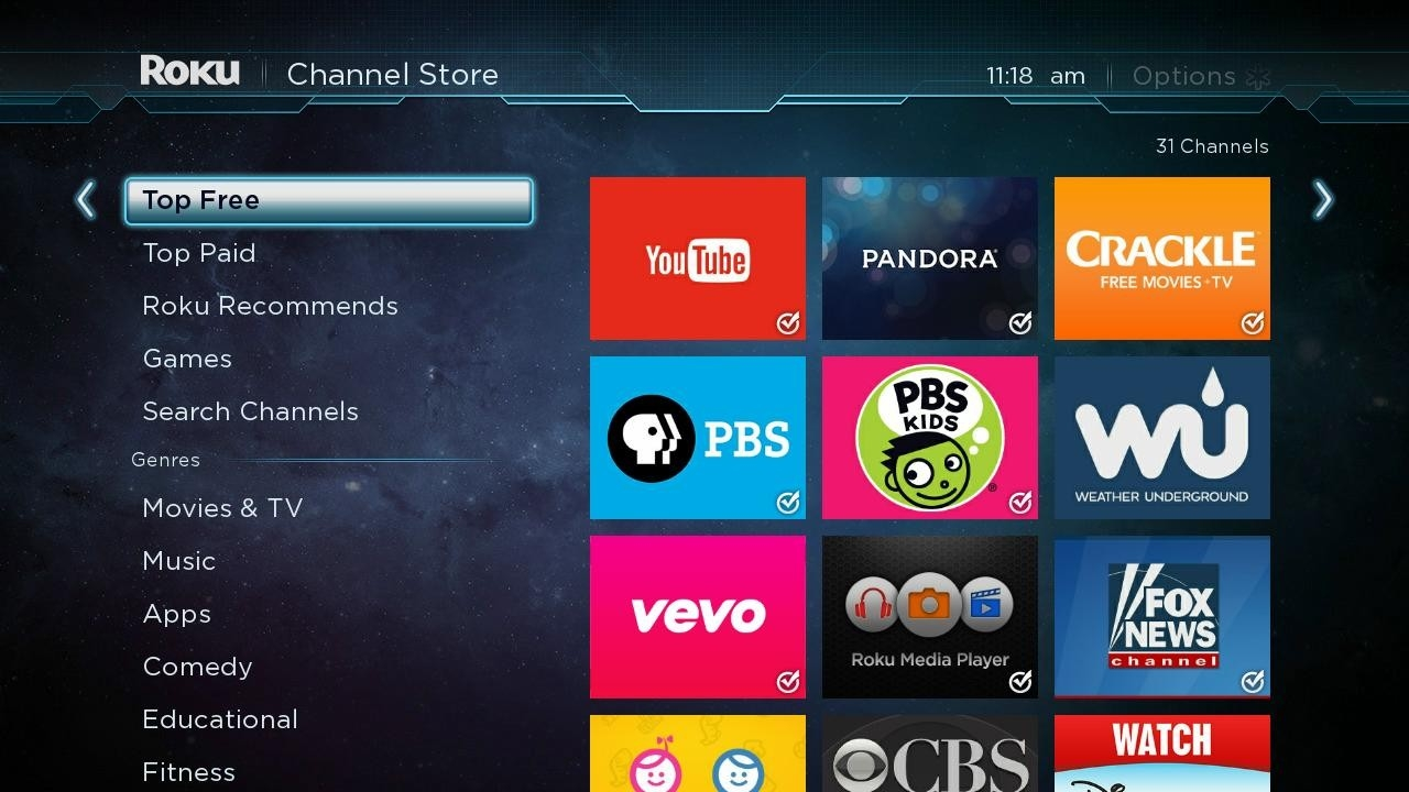 Roku Free Channels List | Examples and Forms