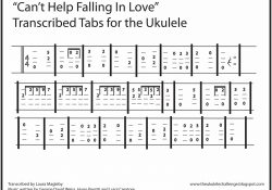 The Ukulele Challenge: Can't Help Falling In Love for Can T Help Falling In Love Ukulele Tabs