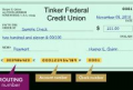 Tinker Federal Credit Union Routing Number