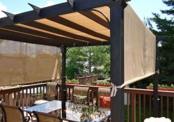 To Maximize Shade, This Couple Got Rid Of Their Deck Umbrella In within Shade Ideas For Decks