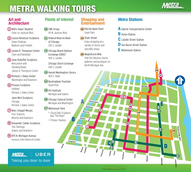 Travel Guides | Metra with Metra Rail Schedule 47361