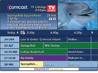 Use The On-Screen Guide | Comcast Business inside Comcast Tv Schedule 46161
