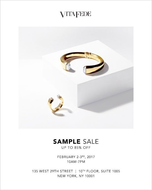 Vita Fede Jewelry New York Sample Sale - Thestylishcity with regard to Vita Fede Sample Sale 59316