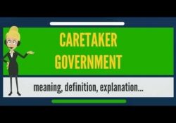 What Is Caretaker Government? What Does Caretaker Government Mean intended for Definition Of Caretaker