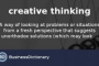 Creative Thinking Definition