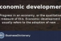 Economic Development Definition