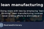 Lean Manufacturing Definition