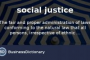 Definition Of Social Justice