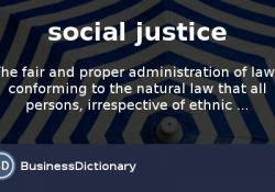 What Is Social Justice? Definition And Meaning - Businessdictionary throughout Definition Of Social Justice