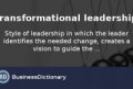 Transformational Leadership Definition