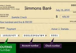 Where To Find A Simmons Bank Routing Number | Bank Routing Number throughout Best Bank Routing Number