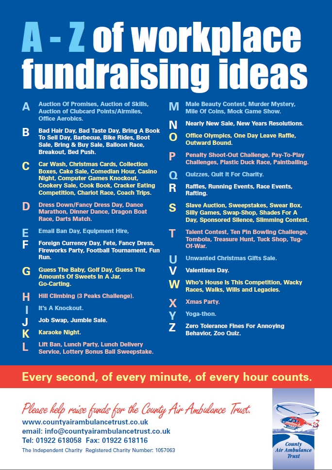 Workplace Fundraising Ideas - Nice List Of Ideas For Raising Funds pertaining to Office Fundraising Ideas 37345