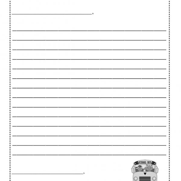 letter template for kids letter template for printable fieldstation co with 1441