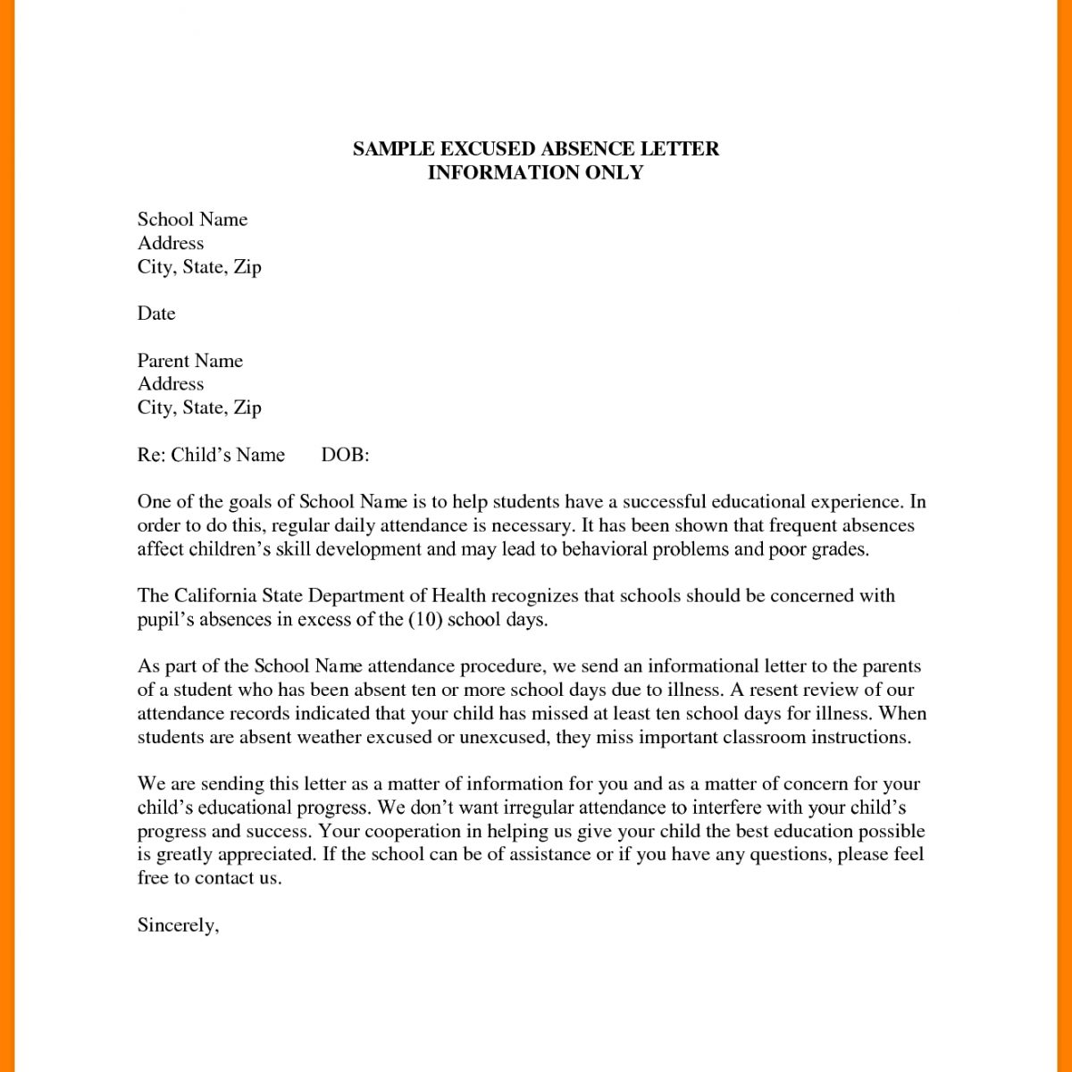 Request For Sick Leave Letter - Fieldstation.co throughout ...
