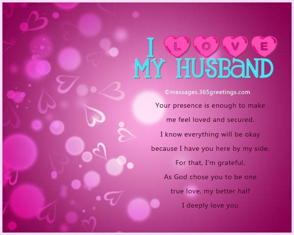 Love Messages For Husband - 365Greetings with regard to Romantic Love Cards For Husband