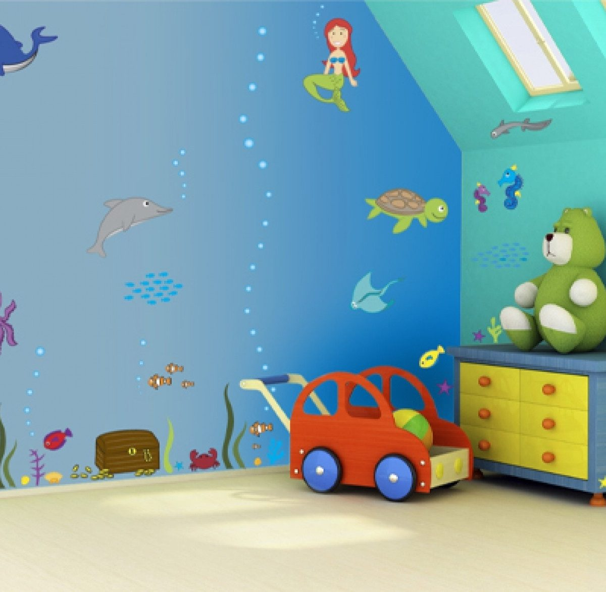 Wall Art Decorating Ideas For Children's Room | Kids Room with regard to Wall Art Ideas For Kids Bedroom