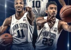 2017-18 Penn State Men's Basketball Media Guide By Penn State for Penn State Basketball Schedule