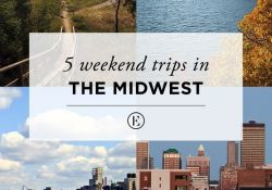 5 Weekend Road Trips In The Midwest | ☆ Life - Midwest Living inside Weekend Vacation Ideas
