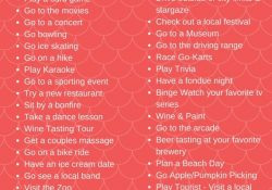 50 Date Night Ideas + Free Babysitter's Checklist Printable | Mommy with Fun Date Ideas Near Me