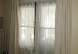 A Very Beautiful Curtains For Double Windows : Curtains For Double with Double Window Curtain Ideas