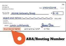 Aba Numbers: Where To Find Them And How They Work with Checks Account Number And Routing Number Location