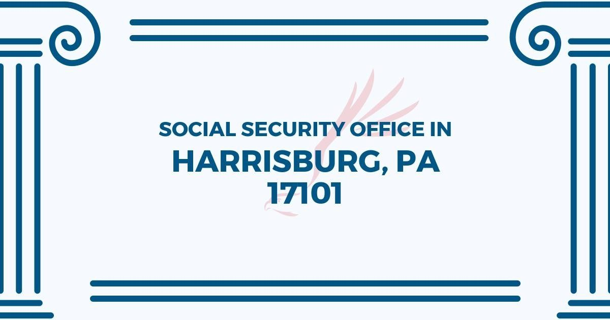 ▸ Social Security Office In Harrisburg, Pennsylvania 17101   Get within Help Office Harrisburg Pa