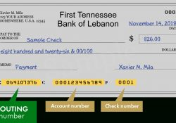 First Tennessee Bank Of Lebanon - Search Routing Numbers, Addresses inside First Tn Routing Number