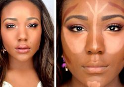 How To: Drugstore Contour,highlight,+ Foundation For Black Women intended for African American Makeup Tutorial