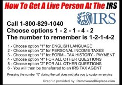 Irs 1800 Phone Numbers - How To Speak With A Live Irs Person Fast pertaining to Irs Help Number