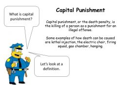 Learning Objective: Learn What Capital Punishment Is And Identify with Capital Punishment Definition