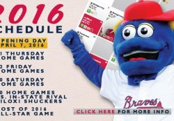 M-Braves Announce 2016 Schedule | Mississippi Braves News intended for Mississippi Braves Schedule