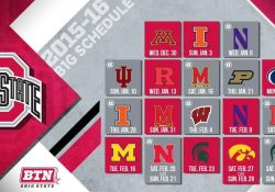 Ohio State Announces 2015/2016 Big Ten Men's Basketball Schedule with Osu Basketball Schedule